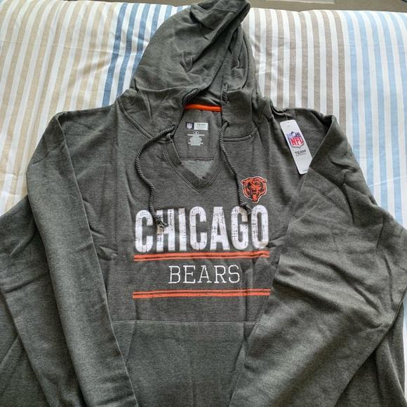 super popular 6caf8 86ae8 3XL Chicago Bears NFL Official Sweatshirt Hoodie NWT